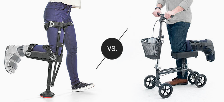compare knee scooters